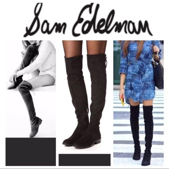 136d6e5c6d7521 BNWT Sam Edelman Paloma over the knee boot